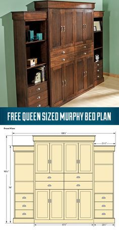 DIY Murphy Bed Plans | DIY Do It Yourself Murphy Bed Plans