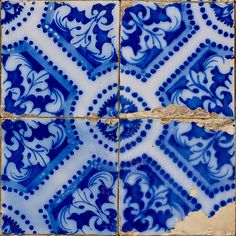 Azulejos Portugueses .