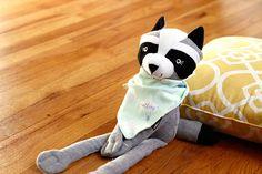 elleez baby 100% cotton reversible bandana bibs