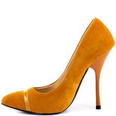Silva - Mustard Nubuck PU  Shoe Republic $49.99