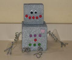 super cute robot from  All Kids Network: