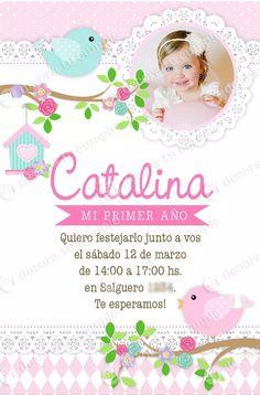kit imprimible pajaritos invitación cumpleaños candybar