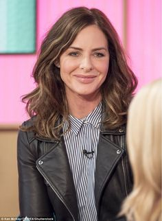 Trinny Woodall appears on This Morning to announce her 'comeback' after a seven-year stint abroad - but viewers question the stylist's 'peculiar' look on Twitter | Daily Mail Online