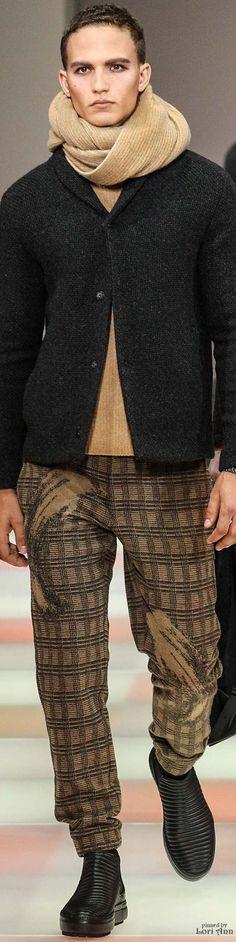 Emporio Armani 2015 | Men's Fashion | Menswear | Men's Outfit for Fall/Winter | Moda Masculina | Shop at designerclothingfans.com