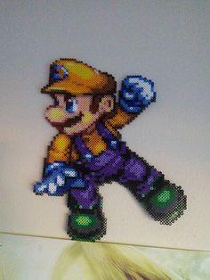 Mario - Perler Bead Art by Gigawowski
