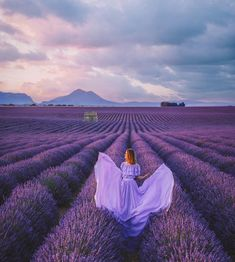 A place where all your worries disappear Who has been to the lavender fields : Valensole France . Lavender Fields, Lavender Color, Lavender Nails, Lavender Roses, Rose Flowers, Champs, Valensole, Casual Summer Outfits For Women, Spring Aesthetic
