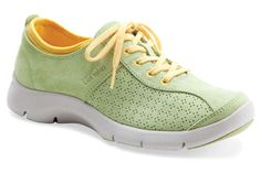 $99.95 Dansko Elise Green Suede - comes in more fun color combos, as well as all-black and all-white