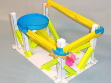 Marble roller coaster ideas this paper roller coaster for Free printable paper roller coaster templates