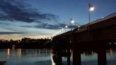 Manette bridge at sunset