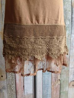 Loving the top extender look? Gypsy has the best! BRAND NEW Three Tier Crochet Top Extenders!