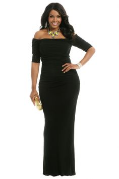 Hourglass Perfection Gown by Badgley Mischka by Rent the Runway on CurvyMarket.com Plus Size