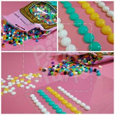 Pink & Fun: Tutorial - Enamel Dots Caseiros