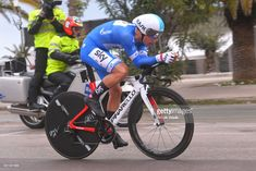 #TirrenoAdriatico Michal Kwiatkowski of Poland Blue Leader Jersey during the 53rd Tirreno-Adriatico 2018, Stage 7 a 10,5km Individual Time Trial stage in San Benedetto Del Tronto on March 13, 2018 in San Benedetto Del Tronto, Italy.