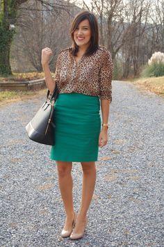 cheetah and green