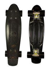Penny board . black on black