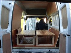 Creating beds in the Transit Camper Beds, Bunk Beds, Home Decor, Decoration Home, Loft Beds, Room Decor, Home Interior Design, Bunk Bed, Double Bunk Beds