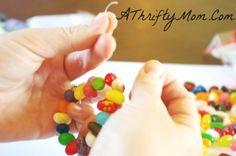 DIY Jelly Bean Bracelets