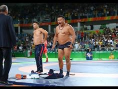 Mongolians strip off in protest after Olympics Wrestling loss Rio 2016