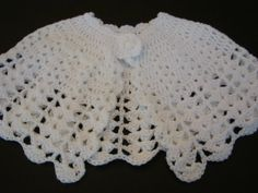 Items similar to Girls Cape Shawl Crocheted White Lacy SZ 9 mos - on EtsyCrochet Pattern for Cape Poncho Coat Lacy por How To Crochet a Cloak – Poncho.When you pick a pattern, you're directly supporting independent designers in Crochet Baby Poncho, Crochet Cape, Crochet Shawl, Knit Crochet, Girls Cape, Cape Pattern, Poncho Coat, Holiday Dresses, Shawls And Wraps