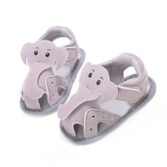 >> Click to Buy << Baby Boys Shoes Summer Slippers for Girl Gear Newborn First Walker Infant Cartoon Elephant Toddlers Leather Flats Child Footwear #Affiliate