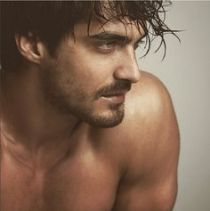 I've been collecting photos of this hottie all year. This is the image that started it all: Some women lost their minds because this guy. Beautiful Men Faces, Gorgeous Men, Beautiful People, Beautiful Boys, Dusan Susnjar, Dominic King, Book Boyfriends, Interesting Faces, Good Looking Men