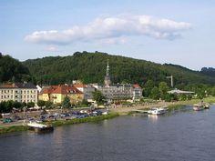 Bad Schandau, Saxon Switzerland, Saxony, Germany