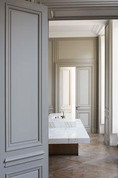 Obumex Concept Kitchen designed by Joseph Dirand French Interior, Classic Interior, Loft Industrial, Joseph Dirand, Top Interior Designers, Internal Doors, Contemporary Interior, Home Decor Inspiration, Interior Styling