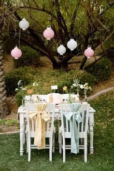this is the CUTEST party i have EVER seen! all the little details are perfect! i can't wait to have a little girl!