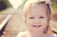 child photography railroad pictures lace rompers