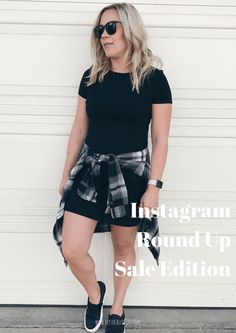 Instagram Roundup Fall Sale Edition. Click to shop these awesome deals! fall fashion | on sale | fall trends | mom outfits | casual outfits | comfy outfits | sneakers outfits | plaid | fall style | how to wear sneakers | how to wear a basic black dress
