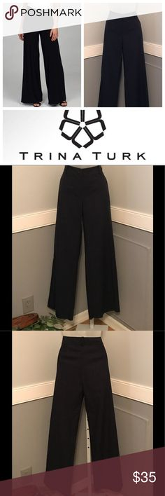 """Trina Turk Trousers Awesome pair of Trina Turk trousers. Cotton/Spandex blend. They measure 17""""across at the waist, have a 10"""" rise and a 32"""" inseam. In EUC with no stains or tears. All reasonable offers welcome. Trina Turk Pants Trousers"""