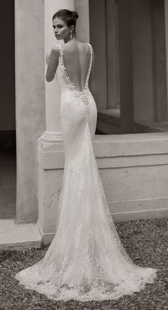 Beautiful Wedding Dresses by Berta - beautiful for a more relaxed wedding or perhaps this shape would be great for a beach wedding