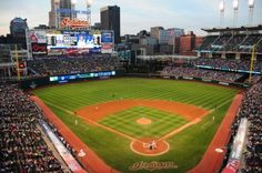 Cleveland Indians Stadium  First baseball game I went to by train when I was in the boy scouts