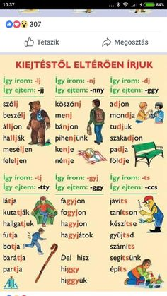 Tàbla Love Languages, Special Needs, Parenting Advice, Hungary, Grammar, Worksheets, Back To School, Homeschool, Classroom
