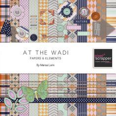 At The Wadi Bundle by Marisa Lerin   Pixel Scrapper digital scrapbooking
