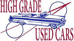 High Grade Used Cars! This vintage style t-shirt is available in many different styles for both guys and gals, and in a wide variety of colors, too. Starting at just $20.99! http://www.cladrite.com/c022.html