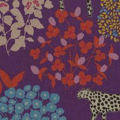 Kokka Fabrics Echino Fall 2011 Purple Bond JG95700-704C