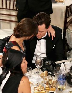 the cutest. #benedict and #sophie