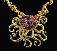leviathan, this spectacular 18k #gold #KaufmanndeSuisse Octopus ...