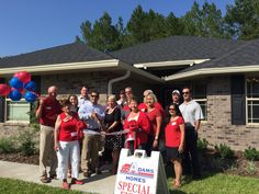 Adams Homes opens new Jacksonville community  #AdamsHomes #JAX #Jacksonville #Florida #RealEstate #NewHomes #ForSale #Home #House #NewConstruction #NewHouse #HomesForSale #HomeBuilding #HomeBuilders #FL #Realtors #HomeBuying #HomeBuyers #BuyingAHome #Building #Construction