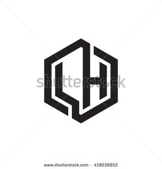 stock-vector-lh-initial-letters-looping-linked-hexagon-monogram-logo-419038852.jpg (450×470)