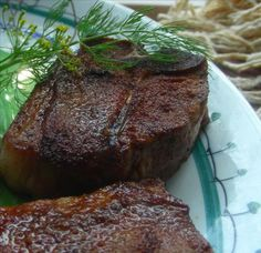 Moroccan Lamb Chops With Cumin/Paprika Salt from Food.com:   #recipes #lamb