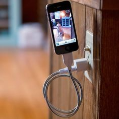Une Bobine Flexible Charger  #iPhone #Gadget #GadgetLove #LynnFriedman
