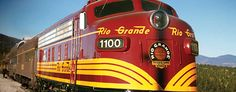 Rio Grande Scenic Railroad...oooh, the photographer's train, that sounds like fun...
