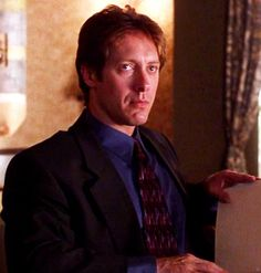 James Spader as Mr. Grey in Secretary [2002, Steven Shainberg]