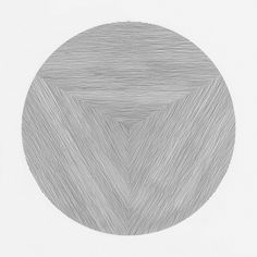 ●●●●●●●●●● ●●●●●●●●●● ●●●● Drawing by Cyril Galmiche #line #circle #drawing #circular #round #geometric #screenprinting #dessin #minimalism #worksonpaper #Handmade #Bw #Blackandwhite #circular