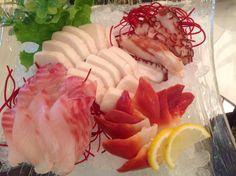 Sashimi @ Heart Sushi 2, Mississauga, Ontario, Canada
