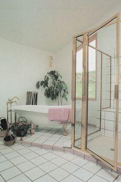 Vintage Interior Design From Rodale's Home Design Series: Baths - - Home Design, 80s Interior Design, 1980s Interior, Interior Design Inspiration, Interior Decorating, Luxury Interior, Decoration Bedroom, Room Decor, Style Retro