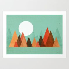 Buy From the edge of the mountains by Budi Satria Kwan as a high quality Art Print. Worldwide shipping available at Society6.com. Just one of millions of…