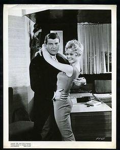 1958 BRIGITTE BARDOT & HENRI VIDAL In LA PARISIENNE Tight Hug Original Photo gp
